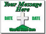 Design CH01 Church Sign Design