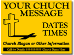 Style CH03 Church Sign Design