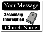 Style CH04 Church Sign Design