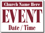 Design CH07 Church Sign Design