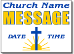 Style CH08 Church Sign Design