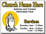 Design CH11 Church Sign Design