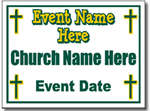 Style CH14 Church Sign Design