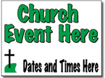 Design CH15 Church Sign Design