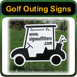 Golf Outing Signs