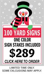 Get 24 x 18 Yard Signs! SignOutfitters.com Coupon Code