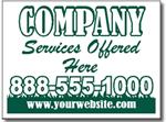 Design LC07 Lawn Care Sign Design
