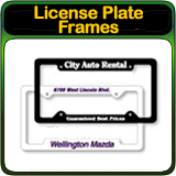 Design License Plate Frames Online with Real Time Designer