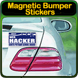 Design Online your very own Magnetic Bumper Stickers