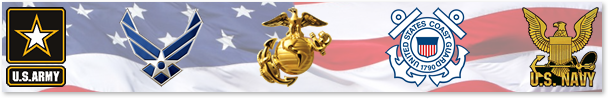 Support our US Military. Military Sign and Patriotic Sign Designs.