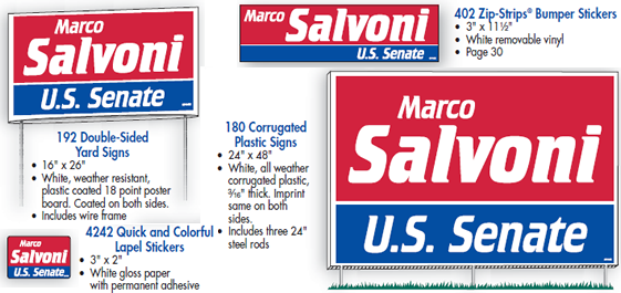Political Campaign Marketing Kits