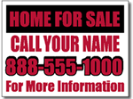 Style RE04 Real Estate Sign Design