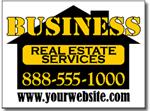 Design RE07 Real Estate Sign Design
