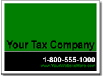 Style Tax06 Tax Sign Design