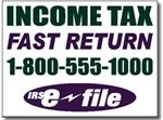 Style Tax07 Tax Sign Design