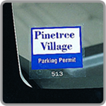 Windshield Parking Permits and Window Parking Permits