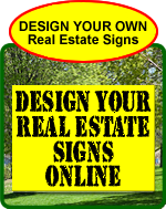 Real Estate Signs Design Online