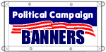 Election Banners for your political campaign