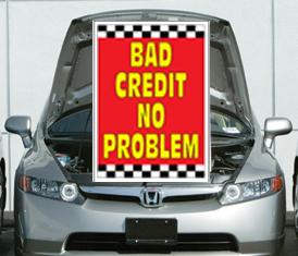 Under The Hood Single Sign - Bad Credit No Problem Bad Credit No Problem