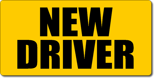 New Driver Magnetic Car Sign
