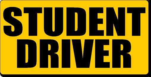 Student Driver Magnetic Car Sign Kit