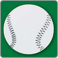 Baseball Yard Sign - Blank