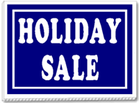 Holiday Sale 24x18 Yard Sign - 1 Color
