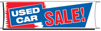 Used Car Sale Banner - 3 x 10 Slogan