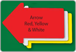 Arrow Yard Sign - Blank