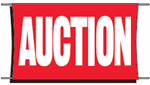 Auction Banner - 3 x 5 Slogan