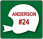 Football Helmet Yard Sign - Personalized