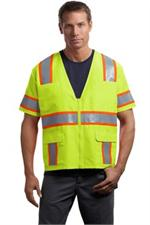 Cornerstone ANSI Class 3 Dual-Color Safety Vest Yellow