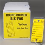 Round Corner Self-Laminating Key Tags (250 per box)
