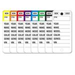 Color Stripe Key Tags (250 per box)