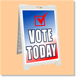 Econo Classic Sign - Vote Today