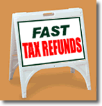 ZQuick Sign - Fast Tax Refunds - 2 Color