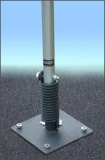 FlexPost Sign Post - Asphalt Model