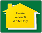 House Yard Sign - Blank