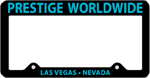 License Plate Frame #497 - Black