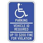 Minnesota Handicapped Parking Sign