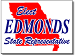 Missouri Political Yard Sign With Stands