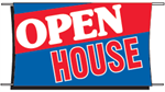 Open House Banner - 3 x 5 Slogan