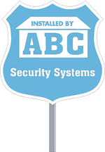 Security Yard Signs - Badge Shape - Stake Included