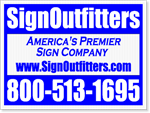 Yard Signs Design Style06 - One Click Kit