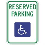 Wyoming Handicapped Sign