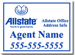 Design Allstate Sign Design