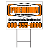 Design Corrugated Plastic Yard Signs Online