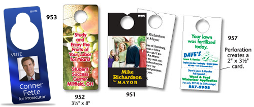 Door Hangers from SignOutfitters.com