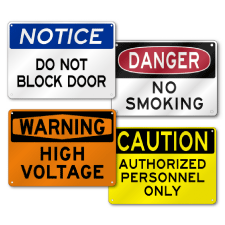 No Parking Signs, Reserved Parking Signs, Handicap Signs, Embossed Street Signs and Custom Aluminum Signs