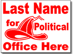 Design P105 Political Sign Design